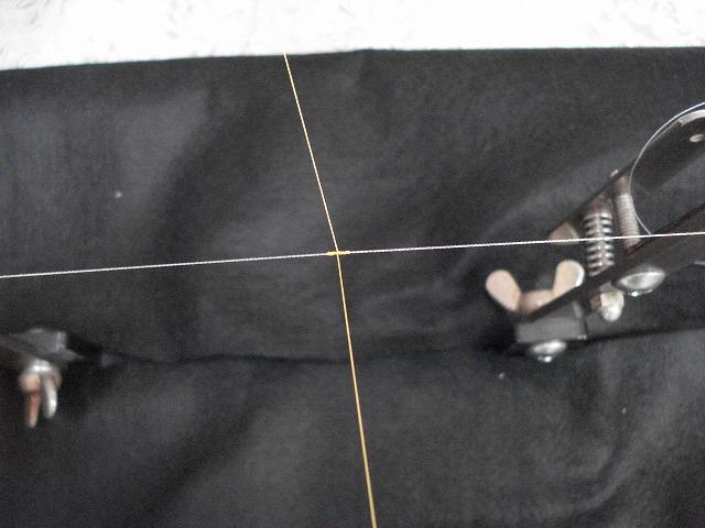 2本の糸を結ぶ