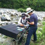 6月11日、新潟県湯沢エリアで、FLYの新製品AQナイロンリーダー&ティペットのプロモーション撮影に行ってきました❗️